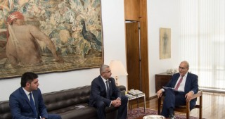 Azerbaijani Ambassador to Brazil presents copy of his credentials to Secretary General of Foreign Affairs