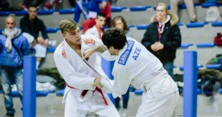Azerbaijani judo fighters bring home four medals from Italy