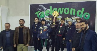 Junior Azerbaijani taekwondo fighters win seven medals in Iran