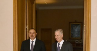 President Ilham Aliyev met with King Philippe of the Belgians