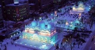 Cool sculptures featuring 'Star Wars,' Pikotaro and more unveiled at 68th Sapporo Snow Festival