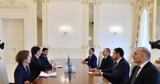 President Ilham Aliyev received delegation led by French Minister of State