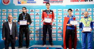Azerbaijani fighters win two golds at European Clubs Taekwondo Championships