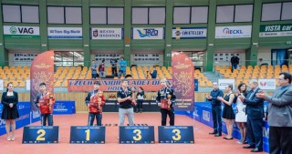 Azerbaijani table tennis players claim two medals in Czech Open