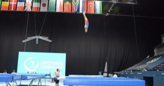 Baku hosts trainings of World Cup gymnasts