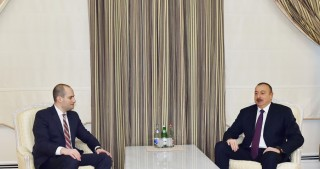 President Ilham Aliyev received Georgian FM