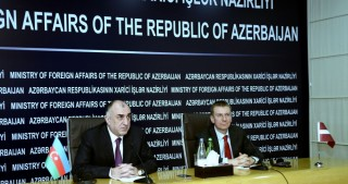FM Mammadyarov: Azerbaijan-Latvia relations are strategic in nature