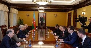 Azerbaijan`s Parliament Speaker meets Latvian FM