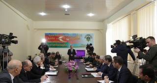 Azerbaijan unveils first national armored fighting vehicle