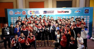 Azerbaijani taekwondo fighters win 10 medals at Turkish Open