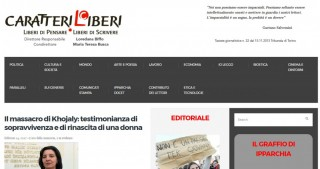 Italian internet sites publish article by Khojaly genocide witness