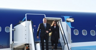 President Ilham Aliyev arrived in Germany on working visit