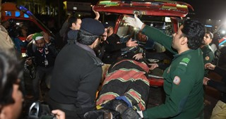 Over 70 killed in suicide blast triggered by IS at Pakistan Sufi shrine