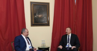 President Ilham Aliyev met with Israeli Defense Minister in Munich