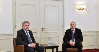 President Ilham Aliyev met with Chairman and CEO of Kaspersky Lab in Munich