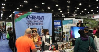 Armenian lobby fails to disrupt Azerbaijan's presentation at Los Angeles Travel and Adventure Show