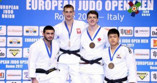 Azerbaijani judo fighters bring home two European medals from Italy