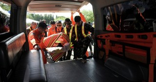 14 on Philippine camping trip killed in bus accident