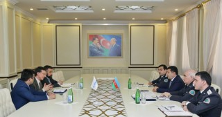 Chief of State Migration Service of Azerbaijan meets Head of UNHCR Office in Baku