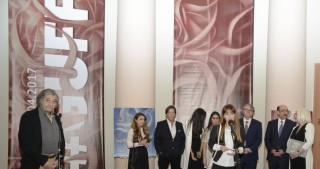 American artist exhibition opens in Baku
