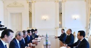 President Ilham Aliyev received delegation led by Japanese State Minister