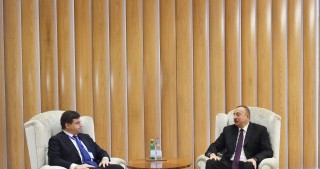 President Ilham Aliyev met with Italian economic development minister