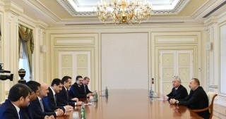 President Ilham Aliyev received delegation led by Turkish minister of food, agriculture and livestock