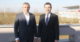 AFFA Secretary General meets President of Serbian Football Association