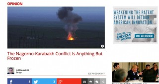 The Daily Caller: The Nagorno-Karabakh conflict is anything but frozen