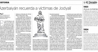 El Peruano newspaper publishes article on Khojaly genocide