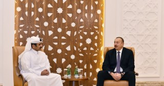 President Ilham Aliyev met with President and CEO of Qatar Petroleum