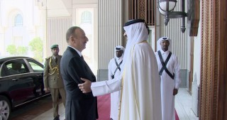Official welcome ceremony was held for President Ilham Aliyev in Qatar