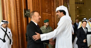 President Ilham Aliyev ended official visit to Qatar
