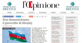 Italian journalist highlights Khojaly realities