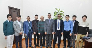 Representatives of Afghan university visit BHOS