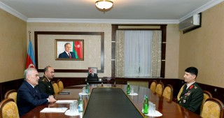 Chairman of Nakhchivan Supreme Assembly meets with Turkish military attaché