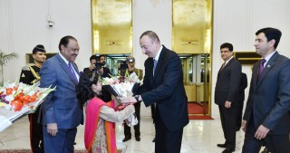 President Ilham Aliyev attended dinner party hosted by Pakistani head of state