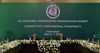 President Ilham Aliyev attends 13th Summit of Economic Cooperation Organization in Islamabad
