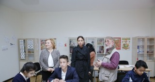First Vice-President Mehriban Aliyeva opens integrated boarding school No. 11 in Bilgah