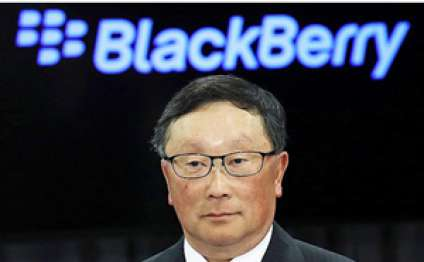 BlackBerry CEO skeptical about foldable smartphones