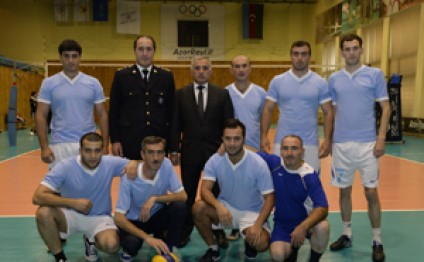 Two-day volleyball competitions held within 'Saglamlig-2016 Spartakiada Games end