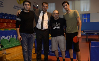 Winners of table tennis tournament held within 'Saglamlig-2016' Spartakiada Games announced