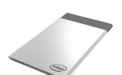 Intel Compute Card is a credit card-sized PC