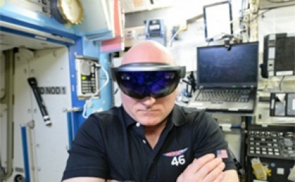 Microsoft HoloLens Could Aid Space Station Maintenance and Repairs