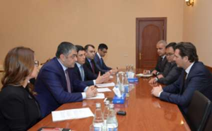 Minister Ramin Guluzade receives delegation of Microsoft Corporation