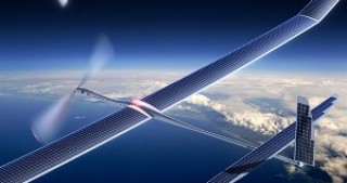 Facebook's solar-powered internet plane takes flight