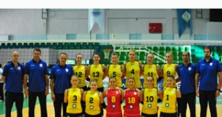 Telecom Baku takes the 2nd place in international volleyball tournament