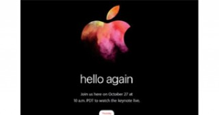 Apple announces event on 27 October with new MacBook Pros expected