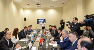 Ministerial Meeting on TASIM held within BakuTel 2016 Exhibition and Conference