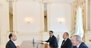 President Ilham Aliyev receives  Secretary General of International Telecommunication Union